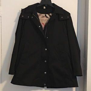 Burberry Brit 'Bowpark' Raincoat size 8